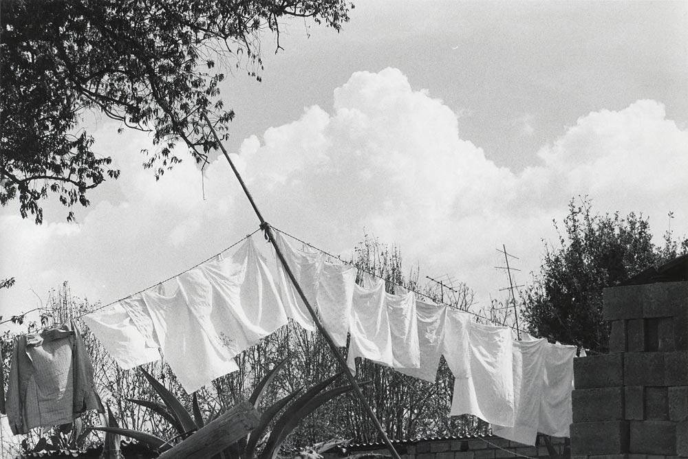 A secar bajo nubes (À sécher sous les nuages) 1970-1980