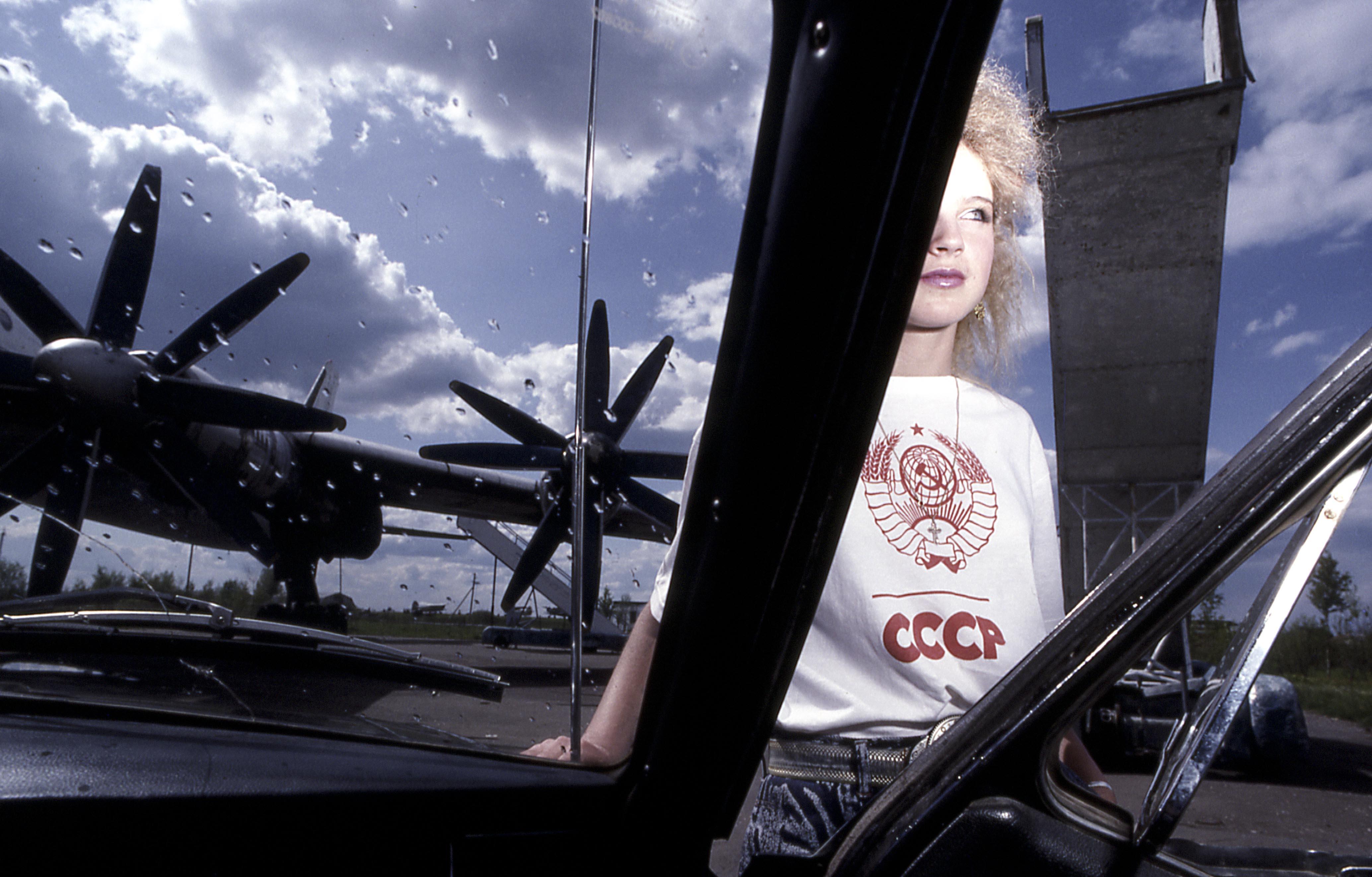 Ruskaïa de Luc Choquer, portraits de jeunes femmes Russes.
